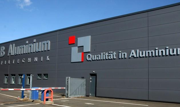RBB-Aluminium Fassade