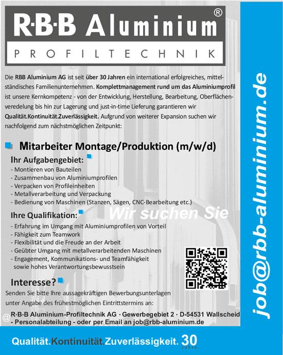 Mtarbeiter-Montage-Produktion.