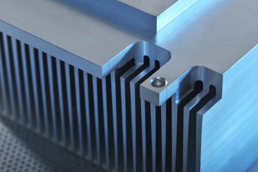 Aluminium Kühlrippen