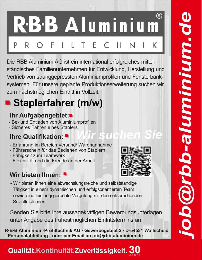 jobs r b b aluminium profiltechnik ag. Black Bedroom Furniture Sets. Home Design Ideas
