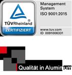RBB ALuminium TÜV Logo