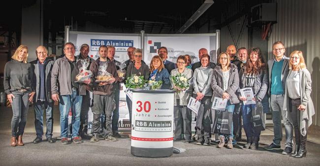 Jahresabschlussfeier 2017 RBB Aluminium