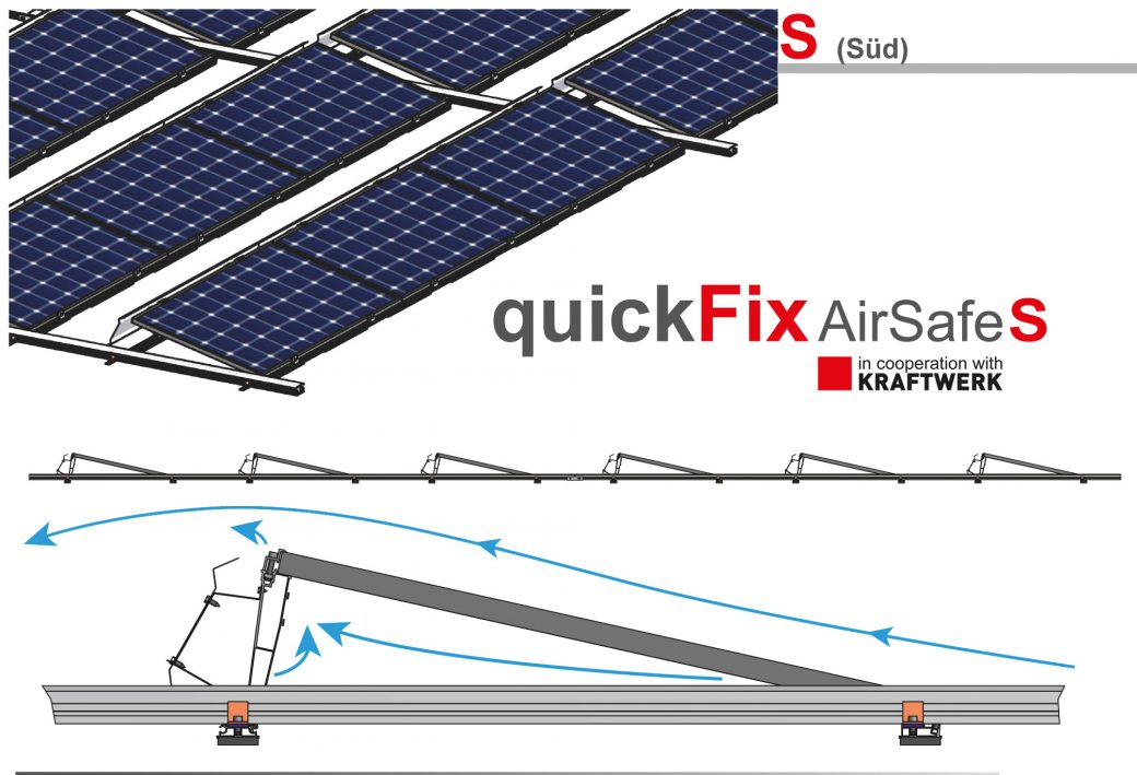 PV Montagesystem quick Fix Airsafe S