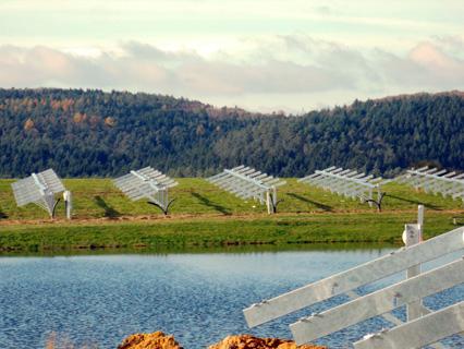 solargestelle freiland