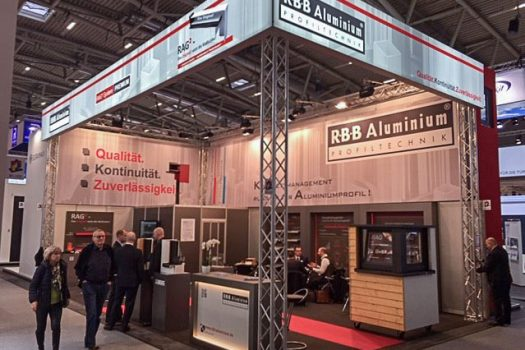 Messestand Bau 2019