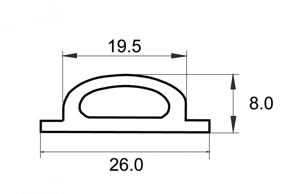 Bodenschwellendichtung Bsd 26 R B B Aluminium Profiltechnik Ag