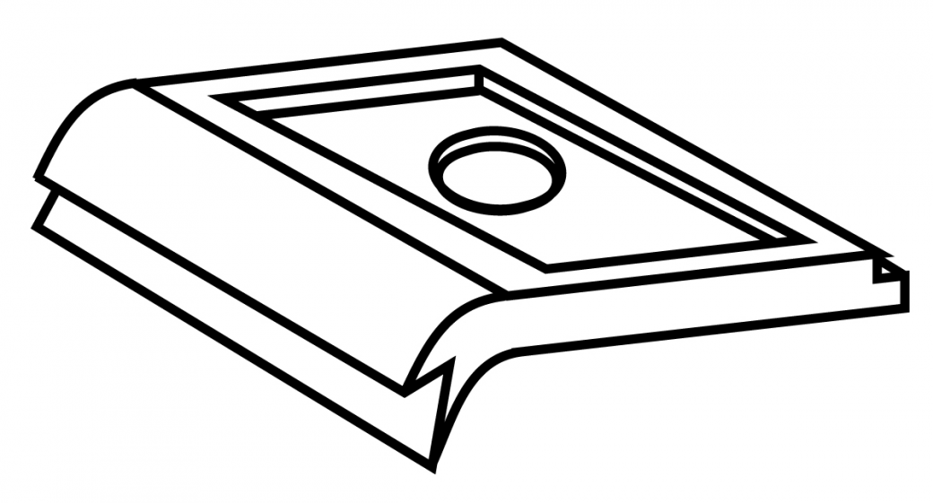 rbb-aluminium clips fluegelabdeckprofile