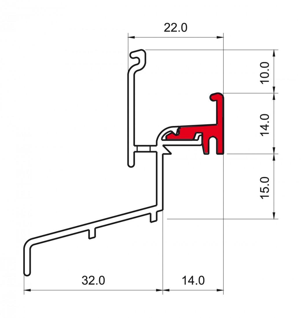 rbb-aluminium trg 1230