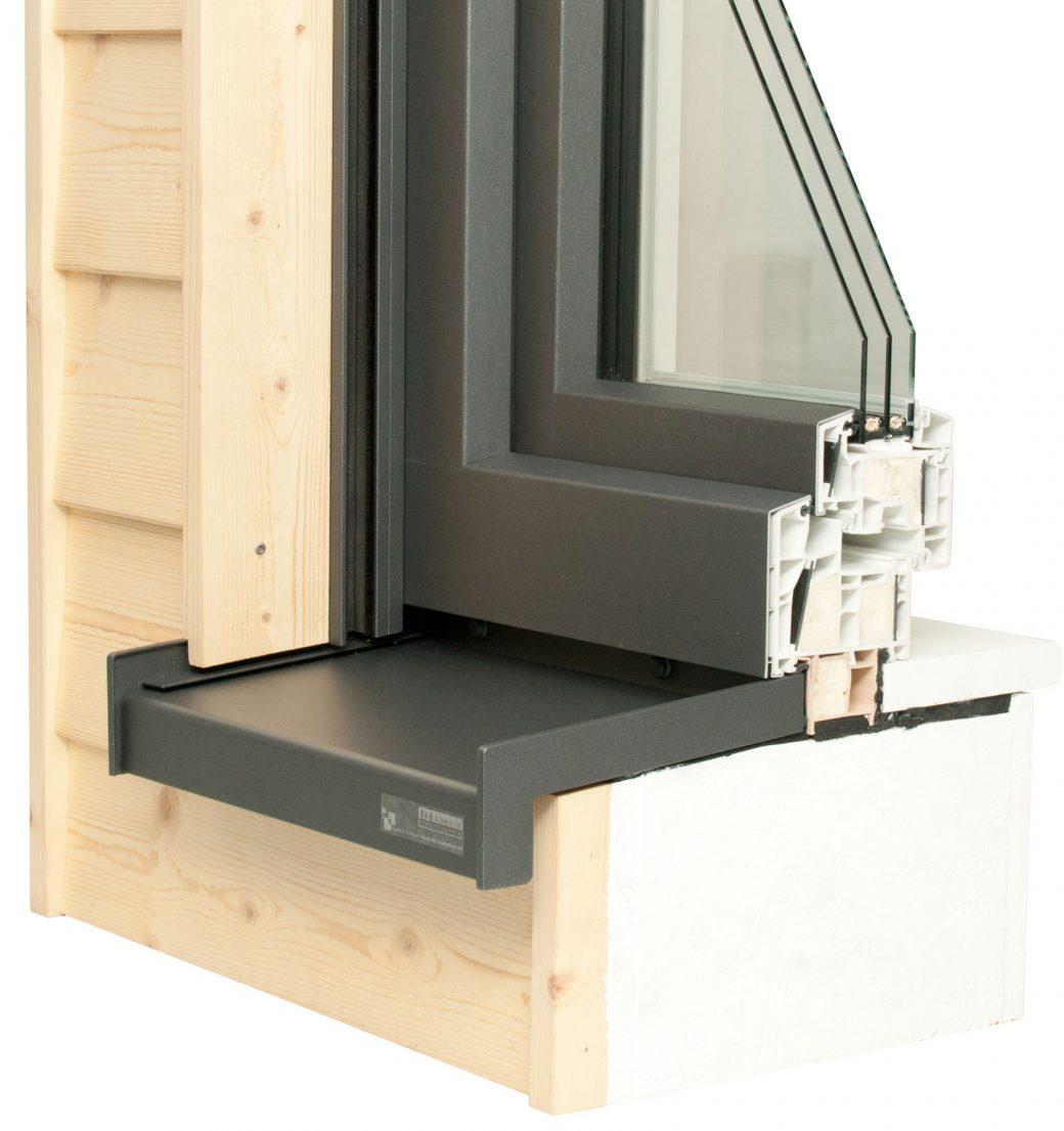 WDVS Fensterbanksystem mit RAG² Endstück